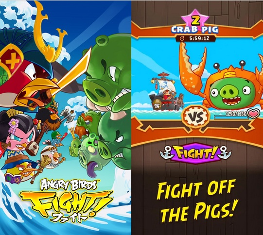 Angry Birds Fight game