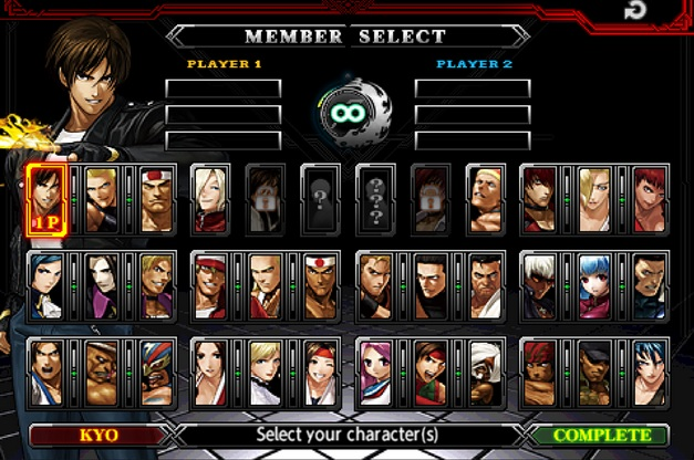 The King of Fighters-A