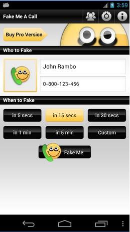 Fake Me A Call APK