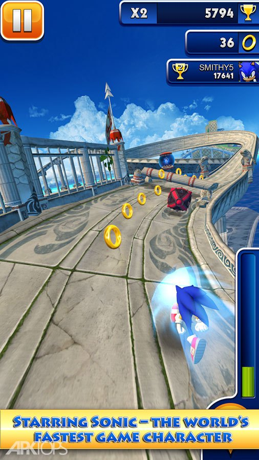 Sonic Dash Unlimited Coins APK