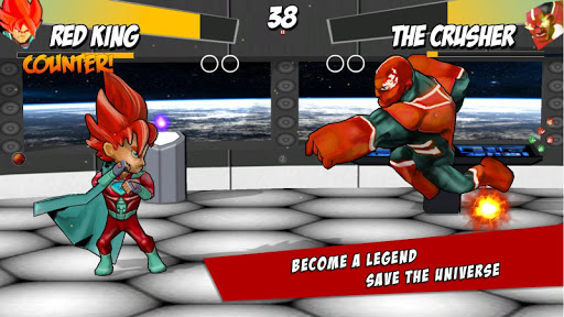 Superheros Free Fighting APK Mod