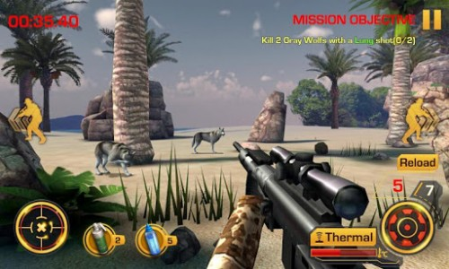Wild Hunter 3D Screen 2